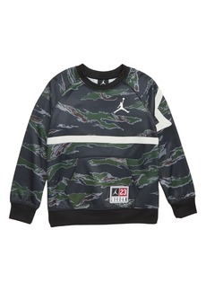 Jordan Tiger Camo Sweatshirt (Big Boys)
