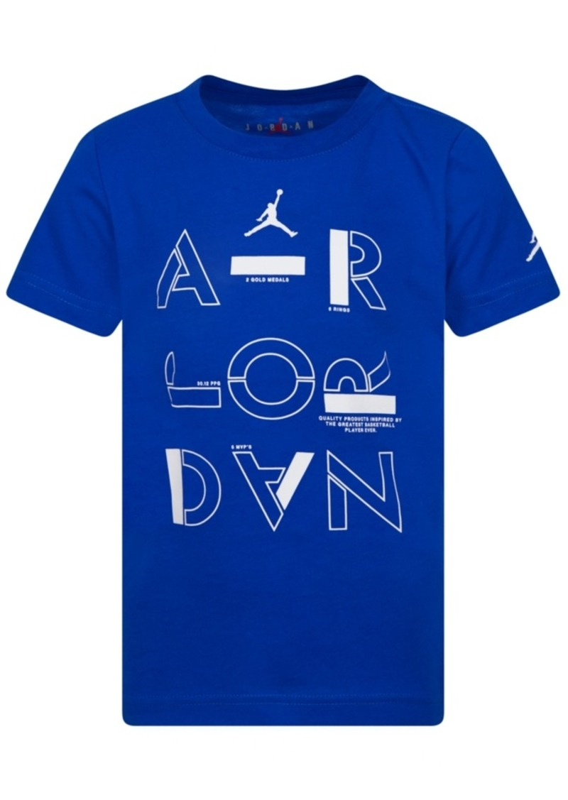 Jordan Little Boys Stencil T-Shirt