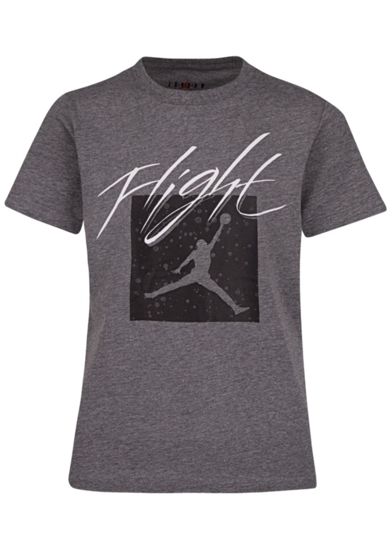Jordan Toddler Boys Jumpman Flight Crew Graphic T-Shirt