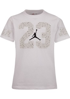 Jordan Little Boys Speckled-Print 23 Cotton T-Shirt
