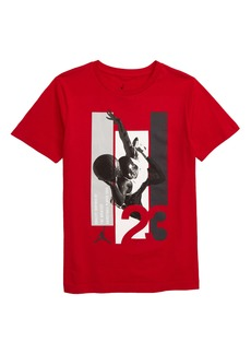 Jordan Top Down Flight Graphic T-Shirt (Big Boys)