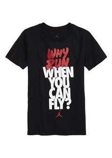 Jordan Why Run Graphic Tee (Big Boy)