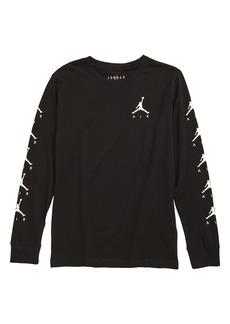 Jordan Nike Airtime Long Sleeve Graphic T-Shirt (Big Boys)
