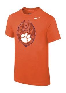 Jordan Nike Clemson Tigers Icon T-Shirt, Big Boys (8-20)