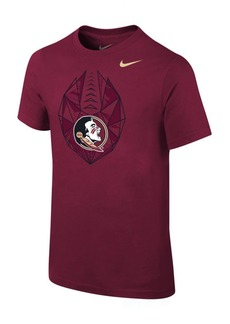 Jordan Nike Florida State Seminoles Icon T-Shirt, Big Boys (8-20)