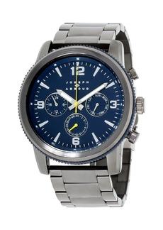Joseph Abboud Men's Analog Gray Stainless Steel Bracelet Watch 28mm