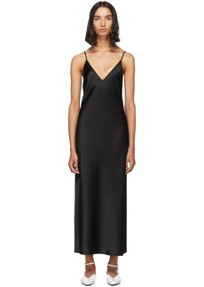 Joseph Black Silk Clea Dress