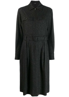 Joseph boucle belted dress