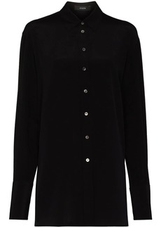 Joseph Brooks long-sleeve silk shirt