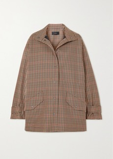 Joseph Calypso Checked Wool-blend Jacket