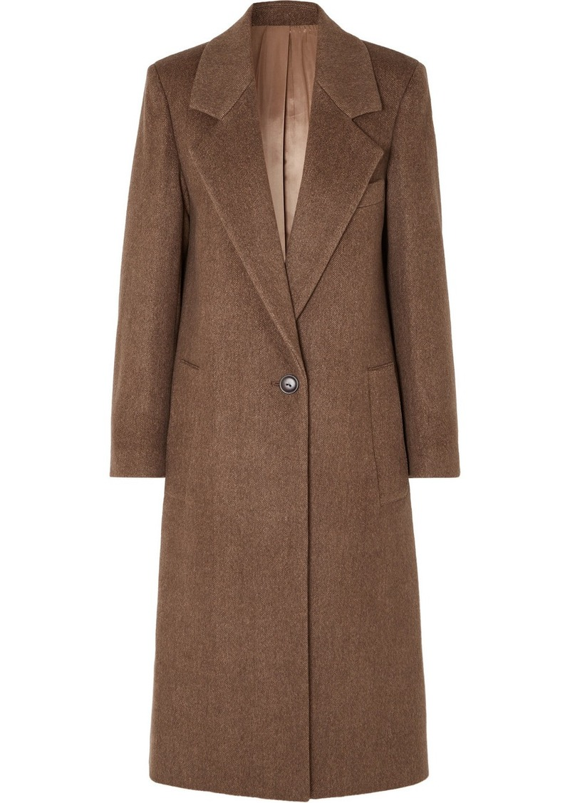 Joseph Captain Herringbone Wool-blend Coat