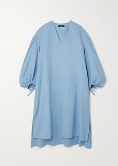 Joseph Duna Oversized Linen-blend Midi Dress