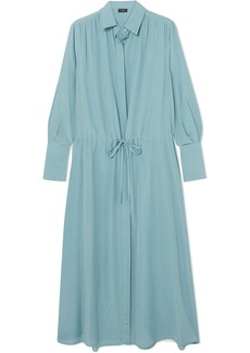 Joseph Evie Silk Crepe De Chine Midi Dress