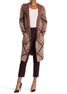 Joseph Hooded Long Cardigan Sweater Coat