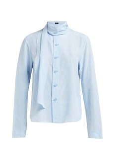 Joseph Amine silk-toile blouse