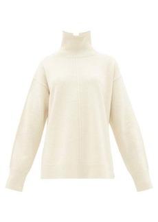 Joseph Brioche-stitched wool roll-neck sweater
