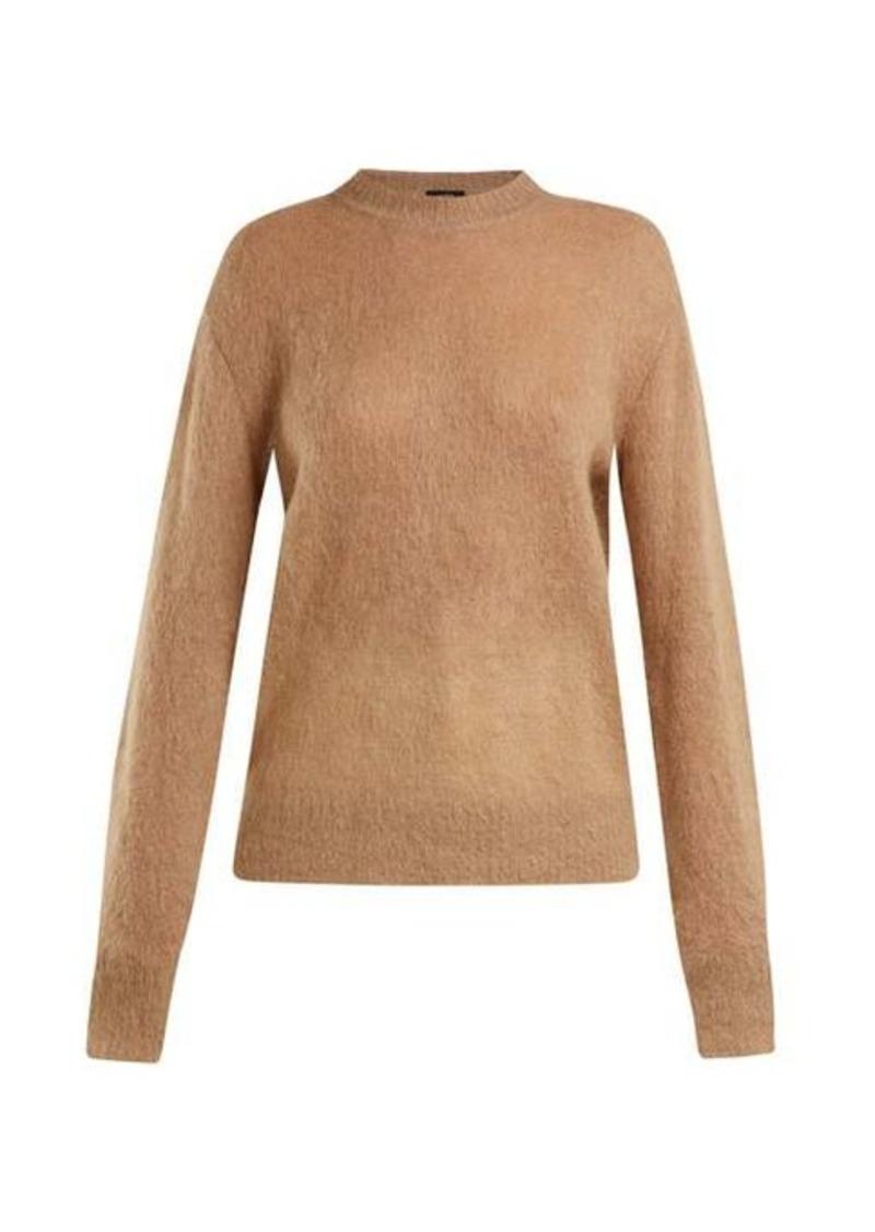 Joseph Brushed mohair-blend crew-neck sweater