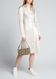 Joseph Calum Satin Double Face Shirtdress
