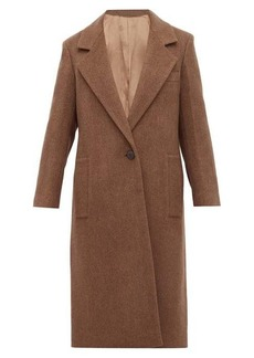 Joseph Captain single-breasted wool-blend coat