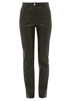 Joseph Cindy leather trousers