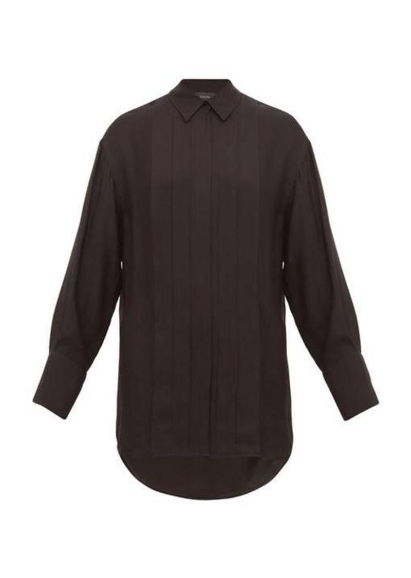 Joseph Cinna silk-blend pleated shirt