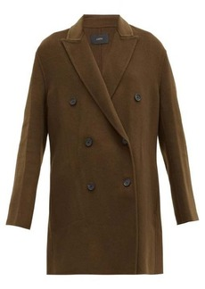 Joseph Clavel felted wool-blend double-breasted coat