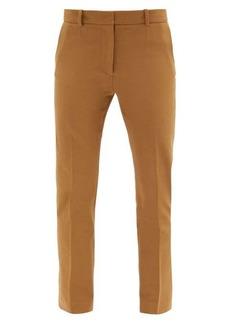 Joseph Coleman stretch-gabardine cropped trousers