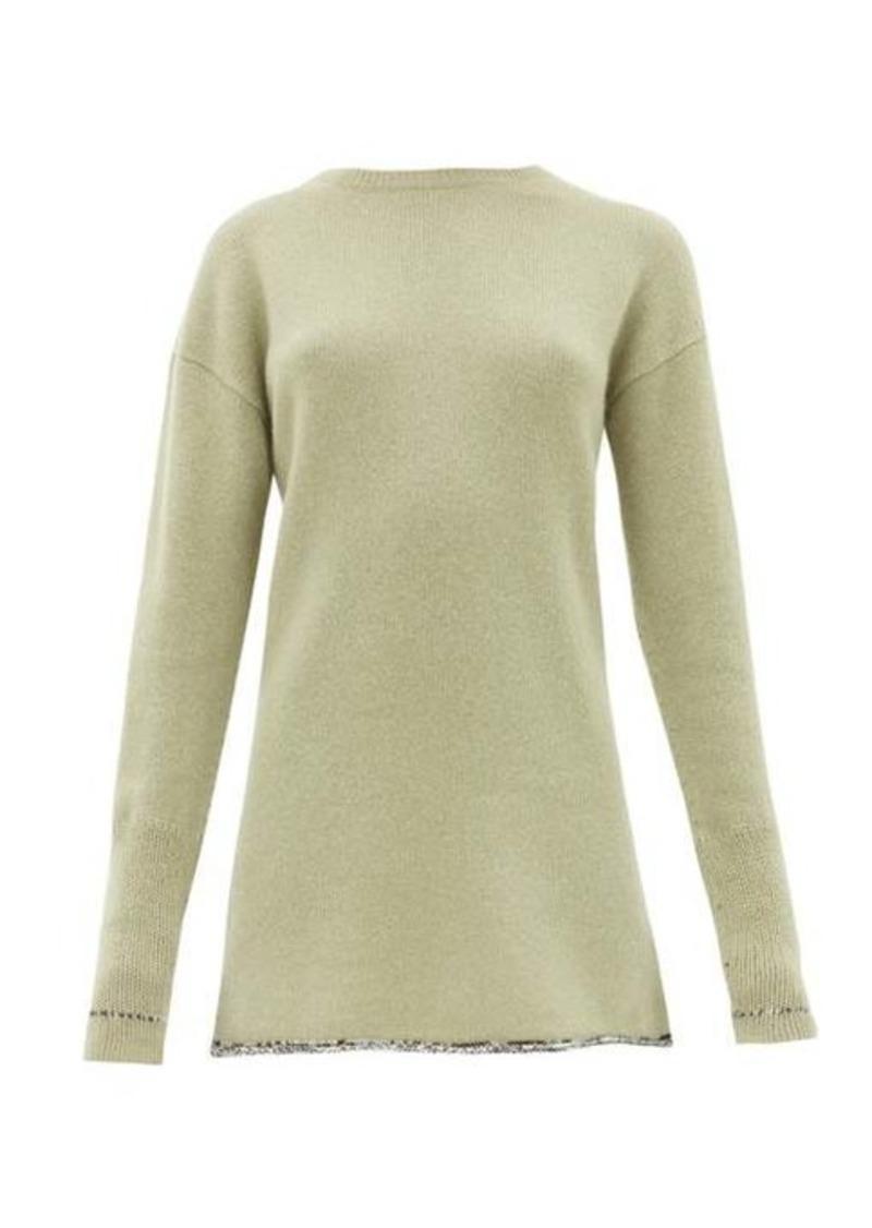Joseph Contrasting-hem cashmere sweater