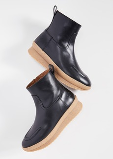 Joseph Crosta Crepe Booties