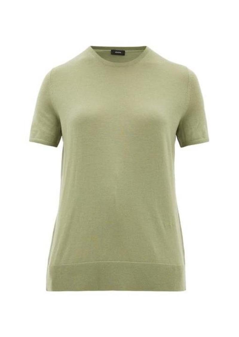 Joseph Fine wool-blend T-shirt