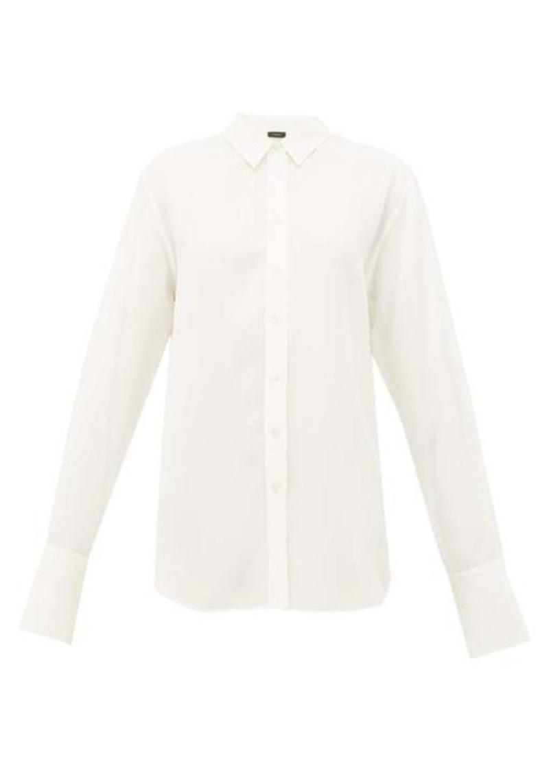 Joseph Joe button-through silk-crepe shirt