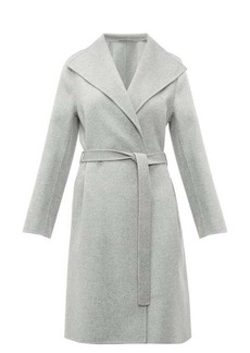 Joseph Lima belted double-faced wool-blend coat