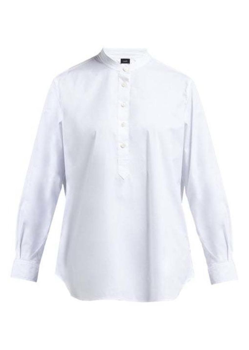 Joseph Luke cotton-blend poplin shirt