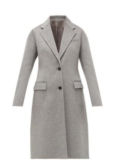 Joseph Marly single-breasted wool-blend coat