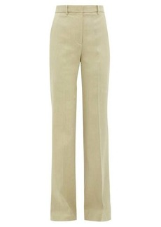 Joseph Morissey linen-blend trousers