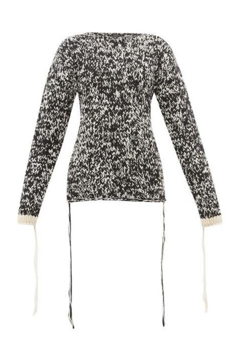 Joseph Mouliné-knit loose-thread wool sweater