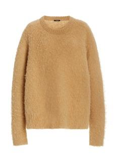 Joseph Oversized Brushed Alpaca-Blend Sweater