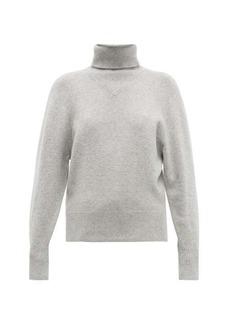 Joseph Ribbed roll-neck wool-blend sweater