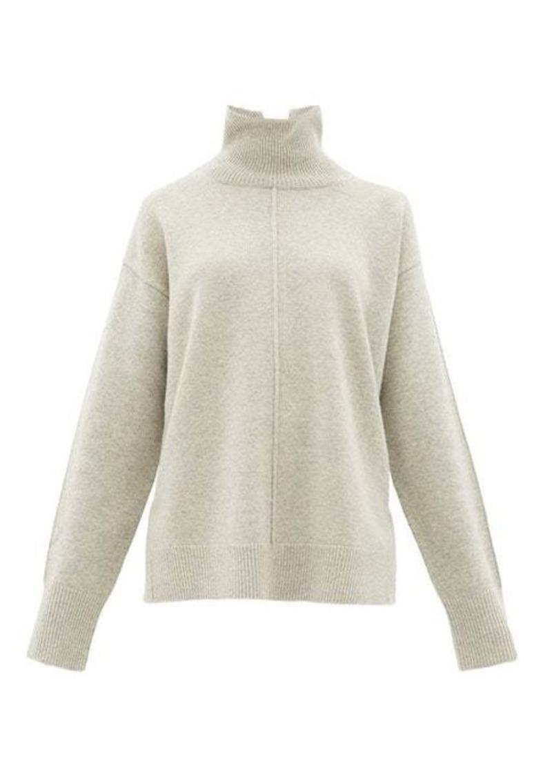 Joseph Roll-neck oversized wool sweater