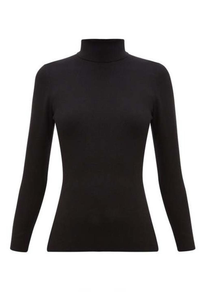 Joseph Roll-neck silk-blend sweater