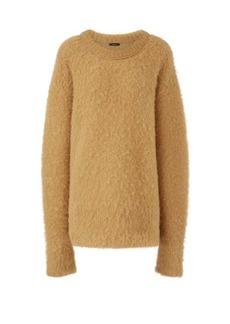 Joseph Round-neck alpaca-blend sweater