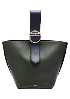 Joseph Sevres buckle-handle leather bag