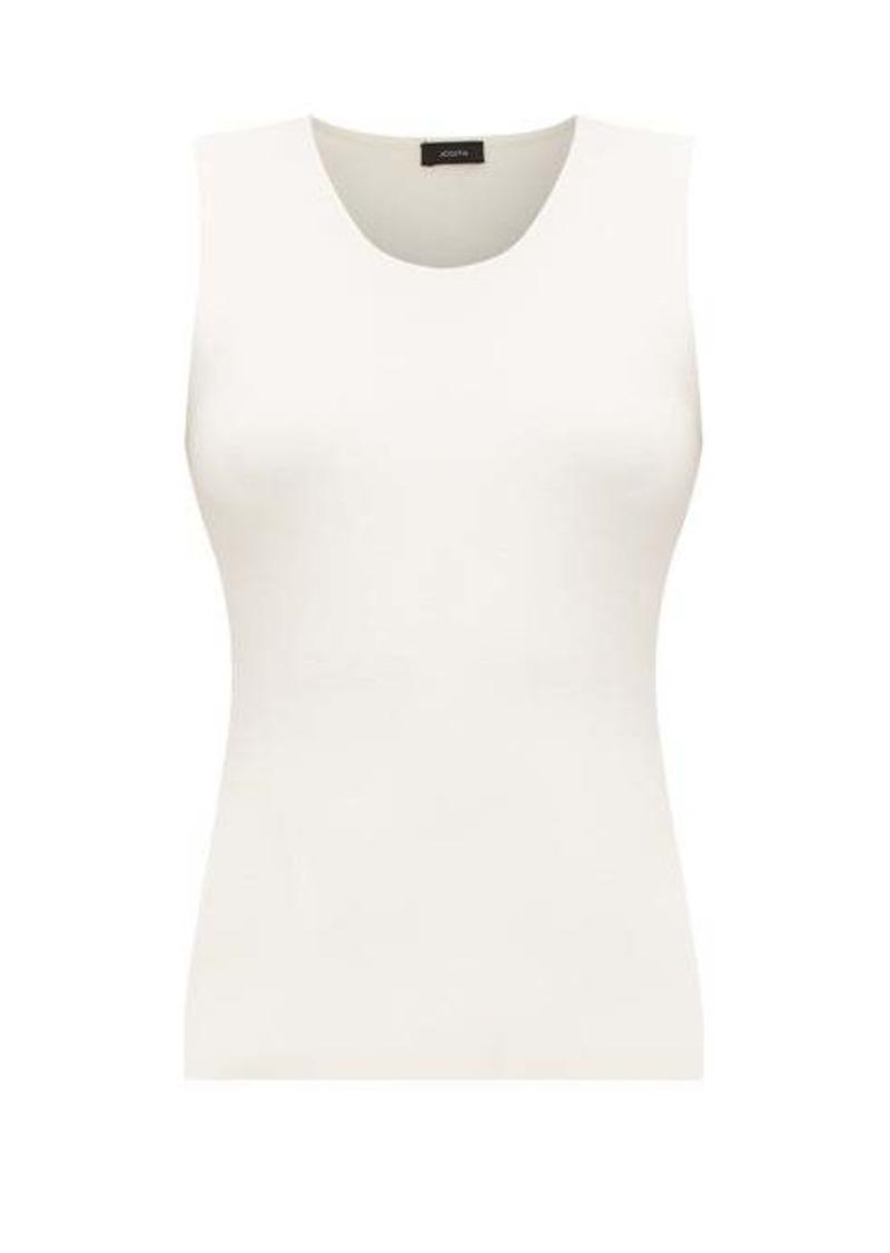 Joseph Silk-blend jersey tank top