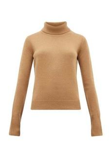 Joseph Slashed-cuff cashmere roll-neck sweater
