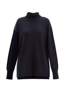 Joseph Slit roll-neck wool sweater