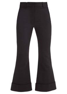 Joseph Tile wool-blend kick-flare trousers