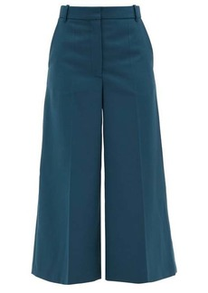 Joseph Travis twill cropped wide-leg trousers