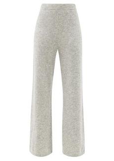 Joseph Wide-leg knitted trousers