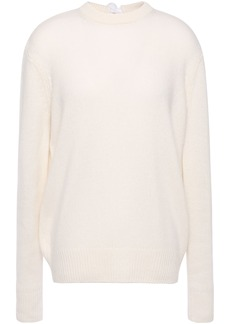 Joseph Woman Tie-back Cashmere Sweater Ivory