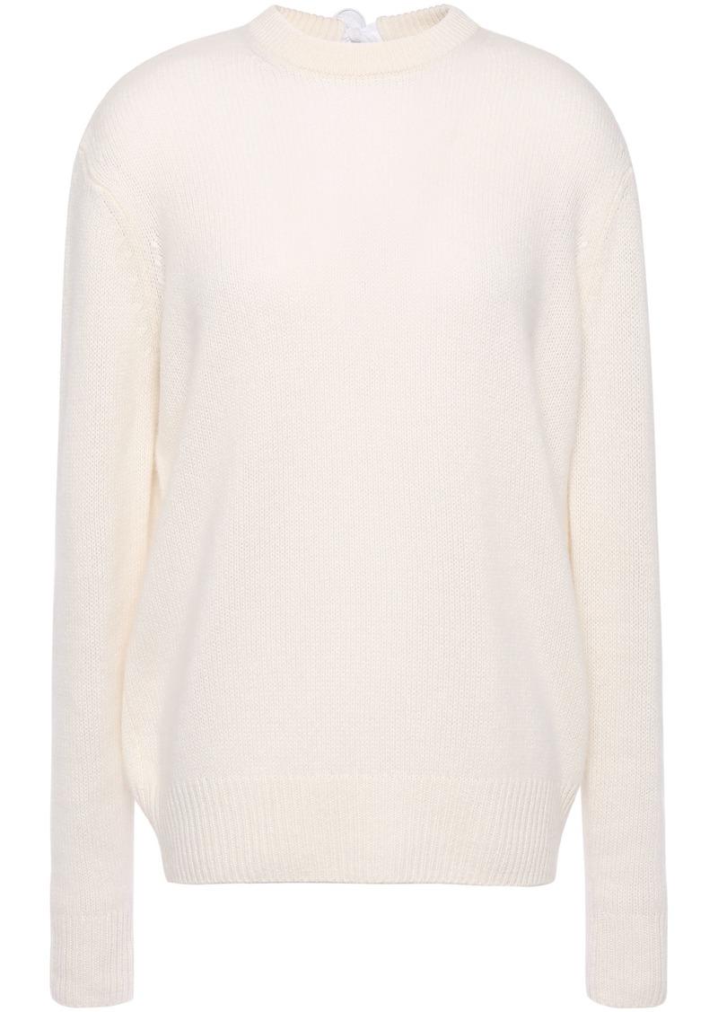 Joseph Woman Tie-back Cashmere Sweater Ivory